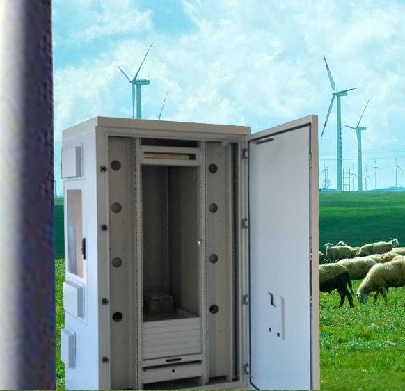 研翔为澳大利亚风电项目-研制生产逆变设备机柜